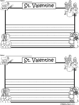 A+ St. Valentine ... Writing Paper