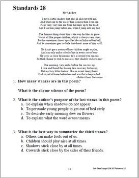 A Standard Start ~ 6th Grade Standards-Based ELA Bell Ringer