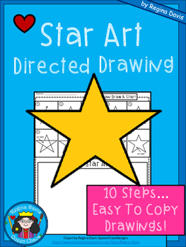 A+ Star Art: Directed Drawing