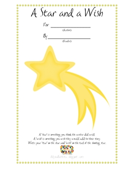 A Star and A Wish - Revising