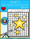 A+ Stars: Numbers 100 and 120 Chart