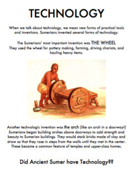 Was Ancient Sumer a Civilization? A Stations Activity