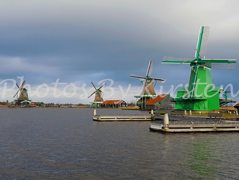 A Stock Photo of 4 Windmills