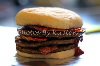 A Stock Photo of a Burger