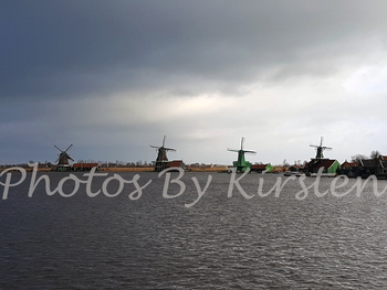 A Stock Photo of a view of Windmills