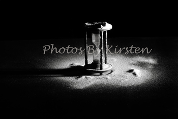 A Stock Photo of an Hour Glass Timer