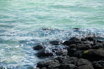 A Stock Photo of the Sea and Rocks