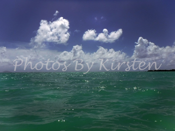A Stock Photo of the Sea and Sky