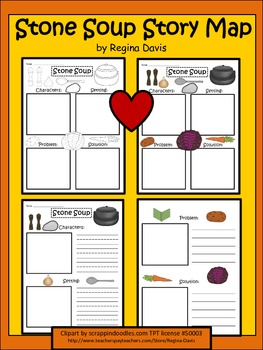 It's just an image of Gutsy Stone Soup Story Printable