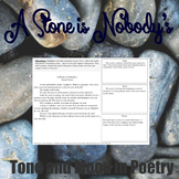 A Stone is Nobody's Theme, Identifying Tone and Mood in Poetry