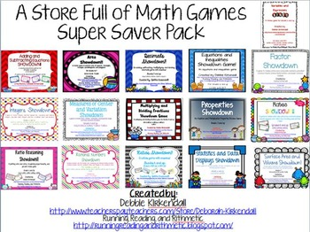 A Store Full of Math Games