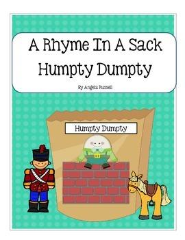 A Rhyme In A Sack ~ Humpty Dumpty