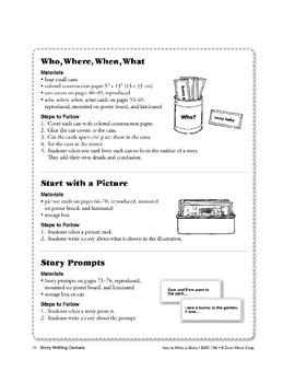 A Story-Writing Center: Start with a Picture