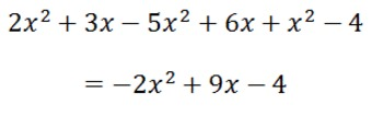 A Story for Simplifying Algebraic Expressions