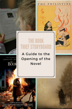 A Storyboard Structured Guide to The Book Thief Parts 1 & 2