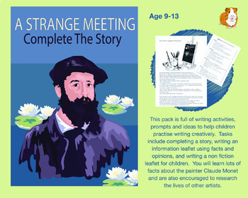 A Strange Meeting: Complete The Story (9-13 years)
