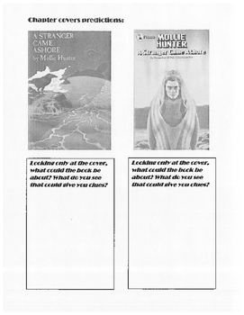 A Stranger Came Ashore Complete Oral Reading Booklet