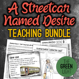 A Streetcar Named Desire Bundle: Unit Plan, Worksheets, Ta
