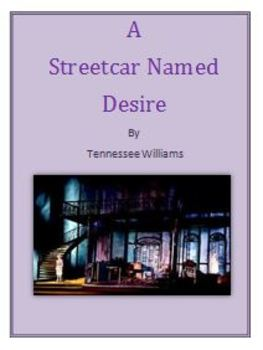 A Streetcar Named Desire Daily Lesson Plans and Activities