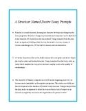 A Streetcar Named Desire Essay Prompts