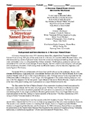 A Streetcar Named Desire Film (1951) Study Guide Movie Packet