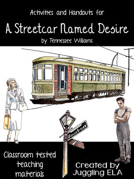 Activities and Handouts for A Streetcar Named Desire by Tennessee Williams