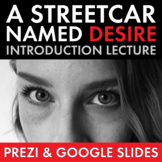 Streetcar Named Desire, Opening Lecture on Tennessee Williams' Life and Work