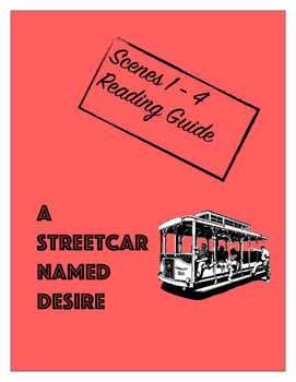 A Streetcar Named Desire Scenes 1 - 4 Reading Guide