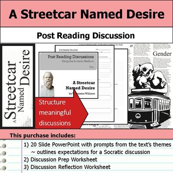 A Streetcar Named Desire - Socratic Method - Post Reading Discussions