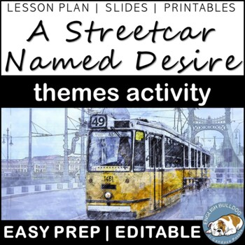 A Streetcar Named Desire Themes Textual Analysis Activity
