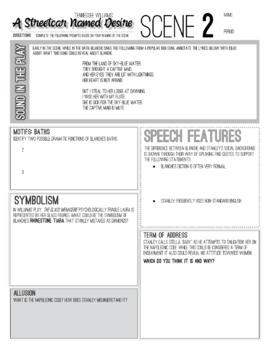A Streetcar Named Desire Workbook: Worksheets, Handouts, Activities