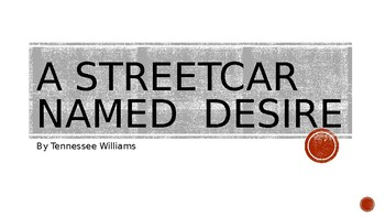 A Streetcar Named Desire Writing Prompts