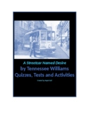A Streetcar Named Desire by Tennesse Williams Quizzes and Test