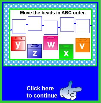 A String of ABC Beads