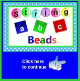 A String of ABC Beads SMARTBOARD