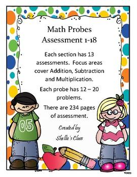 Math Assessments - A+ Achievement Demonstrated
