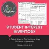 A Student Interest Inventory