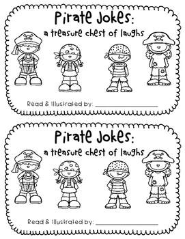 A Student Reader Freebie:  Pirate Jokes