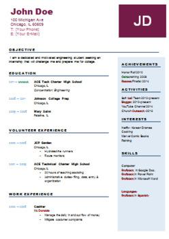 Student Resume & Cover Letter