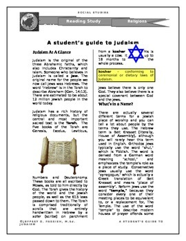 A Student's Guide to Judaism