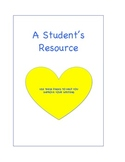 A Student's Writing Resource Binder