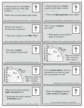 A+ Study Cards Astronomy SURFFDOGGY