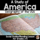 A Study of America: Geography of the USA Article and Google Earth Activity