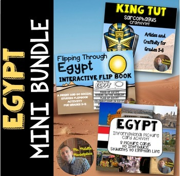 A Study of Egypt: Project Mini Bundle for Grades 3-5
