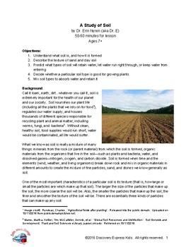 A Study of Soil