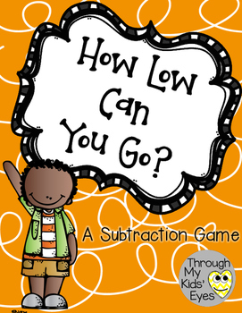 A Subtraction Game: How Low Can You Go?