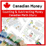 Math Story / Comic - Counting and Subtracting Money with R