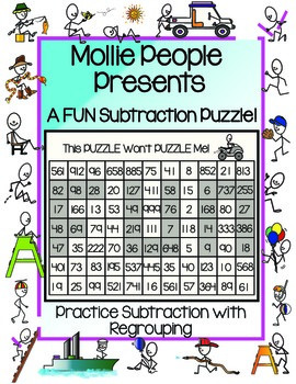 A Subtraction With Regrouping Puzzle