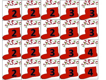 A Subtraction to 10 Holiday Themed Math Center Activity Fluency Practice