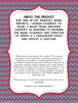 A Suitcase of Memories Book Report